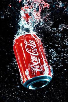 Coca - Cola by Seweryn Cieślik on Coca Cola Bottles, Pepsi Cola, Coke, Garrafa Coca Cola, Coca Cola Pictures, Red Bull Drinks, Coca Cola Wallpaper, Coca Cola History, Coca Cola Poster