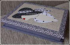 Caixa Mulher de Chapéu em Patch Embutido