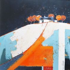 """""""Rusty Trees"""" - Dionne Sievewright (mixed media)"""