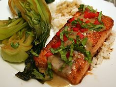This Green Curry Salmon Goes Beautifully With Seared Salmon Fillets
