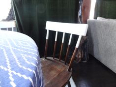 Half painted chair