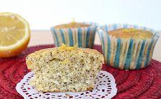 Muffins légers au citron et graines de pavot 2 SP,de savoureux muffins très parfumé, moelleux avec texture légère, facile et rapide à réaliser pour le goûter.