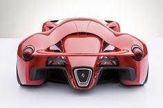 Ferrari 1200 HP Supercar Concept Design Italian designer Adriano Raeli has designed a new and really remarkable concept of the Supercar Ferr Ferrari Laferrari, Ferrari F12berlinetta, Maserati, Lamborghini Gallardo, Logo Ferrari, New Ferrari, Ferrari California, Ferrari Daytona, Super Sport Cars