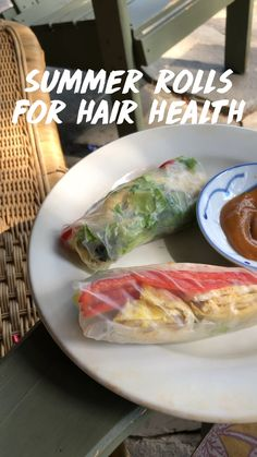 Good Healthy Recipes, Healthy Meal Prep, Whole Food Recipes, Healthy Snacks, Vegetarian Recipes, Healthy Eating, Cooking Recipes, Healthy Finger Foods, Healthy Spring Rolls