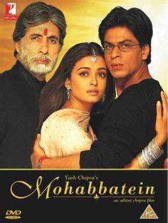 Amitabh Bachchan, Aishwarya Rai and Shah Rukh Khan - Mohabbatein (2000)