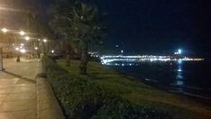 Vista del Circuito de Playas, una noche en #Barranco :-]