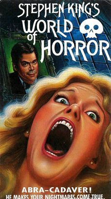 Documentary about Stephen King (VHS). World of Horror, VHS.