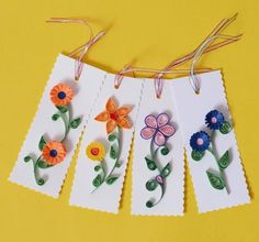 Gift Tags, send Gift Tags, online store for Gift Tags, Gift Tags store gurgaon, Gift Tags delhi Paper Quilling Flowers, Paper Quilling Cards, Paper Quilling Designs, Quilling Paper Craft, Quilling Ideas, Paper Quilling For Beginners, Online Gift Store, Diy Bookmarks, Scrapbook Paper Crafts