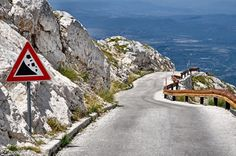 Sveti Jure Highway in Croatia