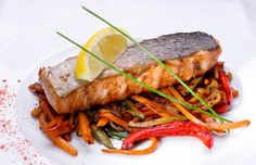 Char with carrots and honey recipe from Chef Marc Veyrat.