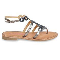 Womens Ofelie Flat Heel Leather Sandals With Buckle Gladiator Sandals, Leather Sandals, Flats, Heels, Fashion, Fashion Brand, Moda Femenina, Spring Summer, Shoe