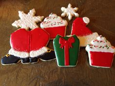 Christmas decorated sugar cookies | Courtney's Confections |