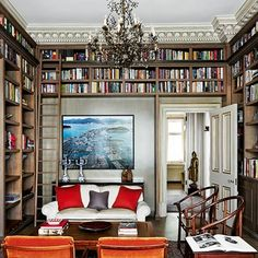 Discover bookshelf ideas on HOUSE - design, food and travel by House & Garden - including this library