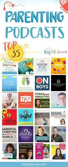 and baby quotes Top 35 Parenting Podcasts Top 35 Eltern-Podcasts - Big Life Journal Mindful Parenting, Foster Parenting, Parenting Books, Gentle Parenting, Parenting Teens, Parenting Quotes, Parenting Advice, Natural Parenting, Bingo