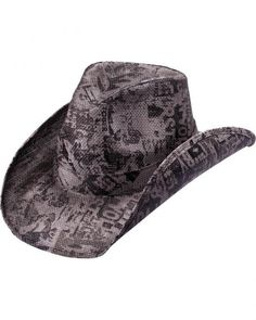 019fd070919 Peter Grimm Collage Straw Cowboy Hat Cowboy Hats