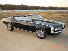 A beautiful 1969 Camaro