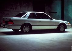 """A white 1987 Honda Prelude My first car. I called it """"White Racer"""", hands down it's still the best car I ever had!"""