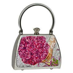 DEBBIE BROOKS -  Petite Sassy White Sparkle - Bouquet: $128 Here Comes The Bride!