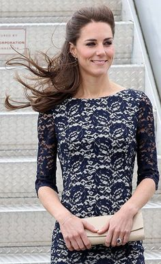 Catherine Middleton arrives in Canada wearing Erdem.#boden #fromlondonwithlove