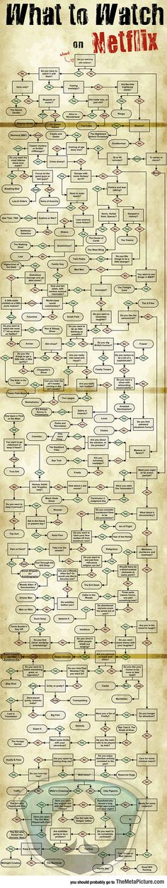 When You Don't Know What To Watch On Netflix - EPIC FLOW CHART!!