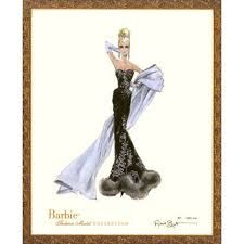 """Limited Edition Vintage Barbie Print 