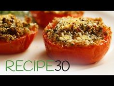 Tomatoes Provencales – Easy Meals with Video Recipes by Chef Joel Mielle – RECIPE30