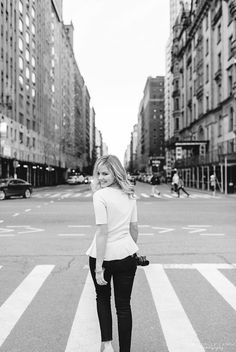City girl... Central Park New York City Portraits by Michelle Lange Photography