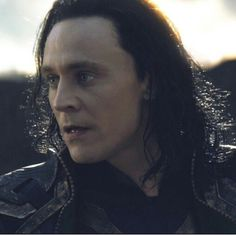 Loki... This is the moment he notices Thor needs help. Does this look like the face of someone planning something sinister?