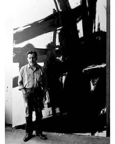 #FranzKilne #1960 in his studio