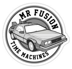 Mr. Fusion Time machines -