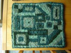 locker hooked rug