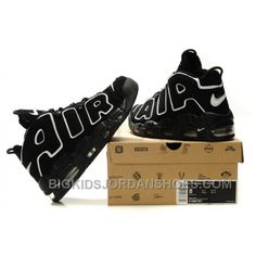 new style df95a c46b6 Nike Air More Uptempo Large AIR White Black Super Deals 2e4Qk
