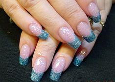 Turquoise Colored Acrylic French