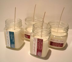 See how easily you can craft your own scented candles.