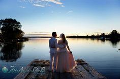 Ottawa Wedding Photographer | Melanie Shields Photography Sunset wedding on the lake couples photo Sunset Wedding, Bride, Ottawa, Couple Photos, Couples, Gallery, Photography, Fotografie, Bridal