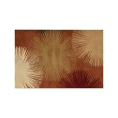 Rugs America Torino Fireworks Abstract Rug, Red, Durable