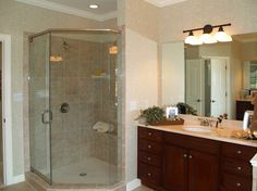 corner showers for small bathrooms | Images Of Standup Shower Design Ideas Pictures Remodel And Decor Page ...