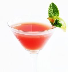 A refreshing watermelon cocktail made with fresh watermelon juice, vodka, simple syrup, lime, and mint.