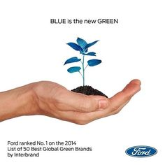 Ford Motor Company named #1 Green Brand for 2014. #westpointford #livedrivelove #environment #eco #sustainable #ford #gofurther