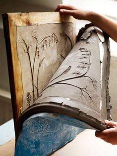 Fossils of Flowers Cast in Tiles –  Rachel Dein, du Tactile Studio