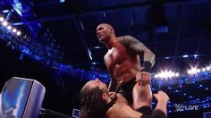 """The Viper"" Randy Orton stalks his prey on WWE SmackDown Live... and that prey is Baron Corbin!"