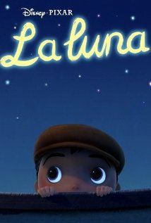 La Luna (2011) - A fable of a young boy who is coming of age in the most peculiar of circumstances. Tonight is the very first time his Papa and Grandpa are taking him to work. In an old wooden boat they row far out to sea, and with no land in sight, they stop and wait. A big surprise awaits the little boy as he discovers his family's most unusual line of work.  Director: Enrico Casarosa Writer: Enrico Casarosa (screenplay) Stars: Krista Sheffler, Tony Fucile, Phil Sheridan