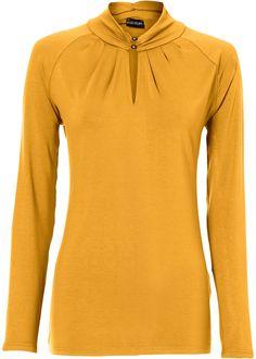 Schönes Shirt mit langem Arm und femininen Details