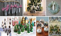 Amazing Pine Cone Decorations You Can Make For Christmas - The ART in LIFE