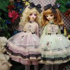 Tii-Alice-2-colors-outfit-BJD-1-4-1-3-MSD-SD10-13-DD-GR-DZ-Doll-Clothes-dress