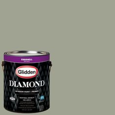Glidden Diamond 1 gal. #HDGCN08U Monsoon Green Eggshell Interior Paint with Primer