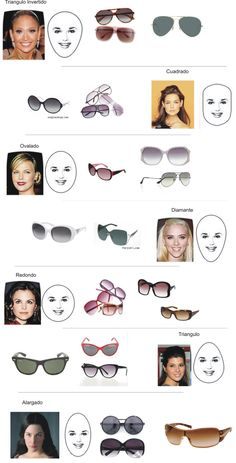 The right glasses for your face shape