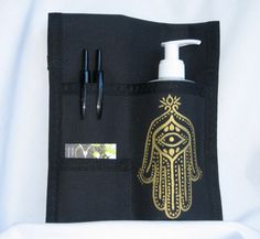 Massage Therapists check this out! Made to Order 3 Pocket Massage Holster Hand by HipHolsters, $35.00