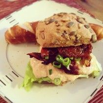Teriyaki-Chilimayo-Sandwich (vegan) - Teekesselchen