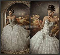 Weiß/Elfenbein Hochzeitskleid Ballkleider Brautkleider 34 36 38 40 42 44 46 48++ de.picclick.com